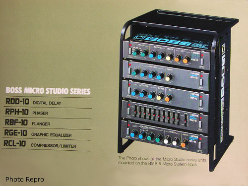 Boss Micro System Bmr 5 Rack Stand Color Catalog Page